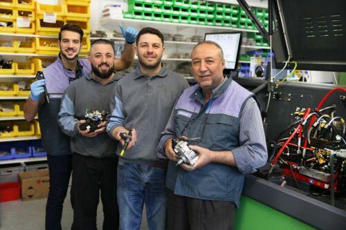 Inyector boquilla Mercedes Sprinter a6460701487 0445115069 0445115033 nuevo *