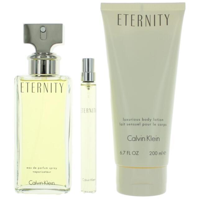 Eternity by Calvin Klein, 3 Piece Gift Set for Women