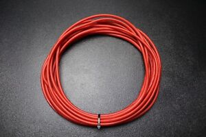 10 GAUGE WIRE 25 FT EA RED BLACK  HOOK UP AWG STRANDED COPPER PRIMARY  POWER