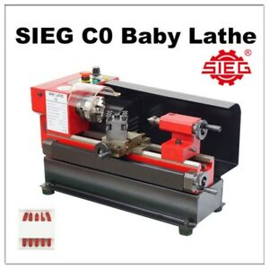 Details about SIEG C0 / 110x125mm Baby Lathe Metalworking Hobby Lathe  Machine w  FREE TOOL SET