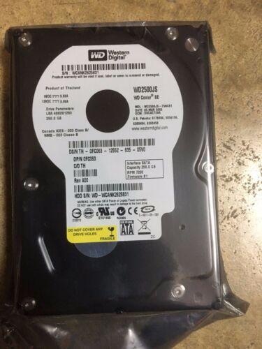 New Dell FC063 WD250JS-75NCB1  250GB SATA  Internal Hard Drive