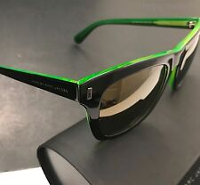 Marc by Marc Jacobs MMJ432/S 7ZJVP Black Green Plastic Frame Mirrored Sunglasses