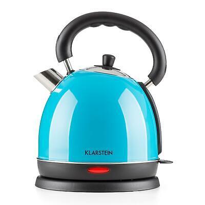 Klarstein Wasserkocher Wasserkessel Teekocher Wasser EDELSTAHL 1,8L schnurlos