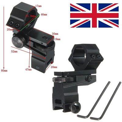 Réglable portée lampe de poche laser Mount Adapter Elevation /& de la dérive directement