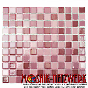 mosaik mix altrosa gl nzend fliesenspiegel k che verblender art 18 1002 10matten ebay. Black Bedroom Furniture Sets. Home Design Ideas