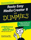 Roxio Easy Media Creator 8 For Dummies by Greg Harvey (Paperback, 2005)