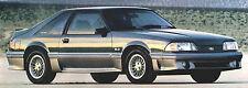 1988 FORD Brochure:THUNDERBIRD,MUSTANG,GT,LTD,TAURUS,TEMPO,ESCORT,EXP,FESTIVA,