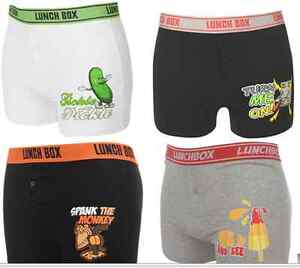 Mens Sexy Lunchbox Boxers All Sizes Shorts Valentine Cartoon Next