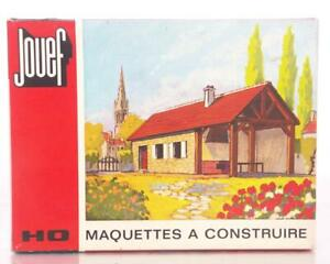 MINT-UNMADE-JOUEF-1011-HO-KIT-RESIDENCE-SECONDAIRE-SECOND-OR-HOLIDAY-HOME