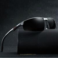 New Aluminum Magnesium Men's Polarized Sunglasses Pilot Sports Driving Glasses