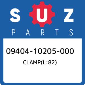 09404-10205-000-Suzuki-Clamp-l-82-0940410205000-New-Genuine-OEM-Part