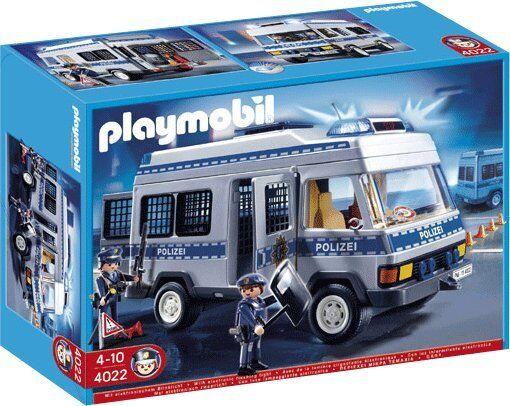 Playmobil 4022 police équipe voiture rare édition limitée neuf neuf dans sa boîte