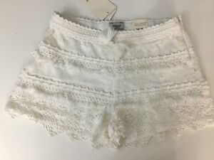 e6869f9944 Mayoral Girls White Lace Shorts Age 16 Years BRAND NEW WITH ...