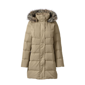 Rrp dame 20 Coat Sz Uk Desert £ 170 Raffineret Beige Down Lands End Xl UwqBS4