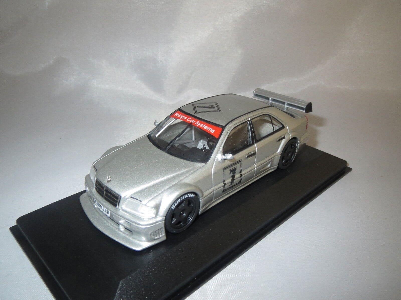 MINICHAMPS Mercedes-Benz Classe C AMG DTM  7 (Dealer Version) 1 43 neuf dans sa boîte