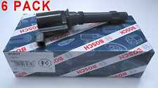 NEW BOSCH 6 PACK OF BA/BF FALCON SX/SY TERRITORY IGNITION COILS