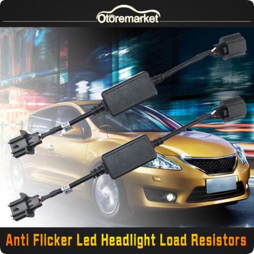 2x 9008 H13 Headlight Canbus LED Decoder Error Free HID Anti-Flicker Resistor