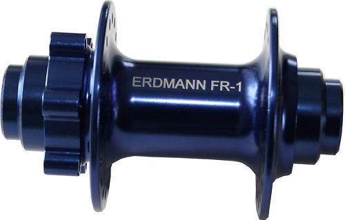 Vorderrad Freeride Nabe Erdmann FR-1 blau 20//110 mm Steckachse