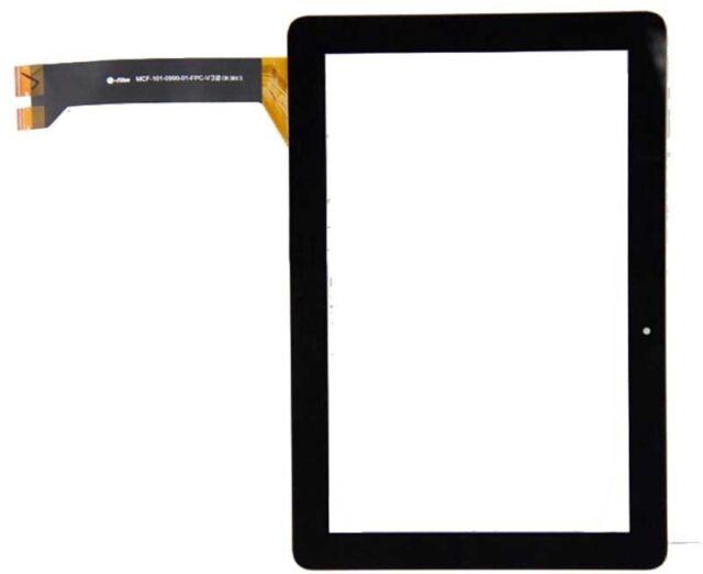 Touch-screen Glas Schwarz Asus Pad 10 me102a me102 k00f Display v.2.0 e 1.0 nero