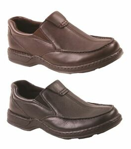 Mens-HUSH-PUPPIES-SAWYER-II-EXTRA-WIDE-FORMAL-DRESS-WORK-LEATHER-SHOES