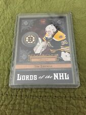11/12 Crown Royal Lords Of NHL Tim Thomas Hockey Card Mint #9