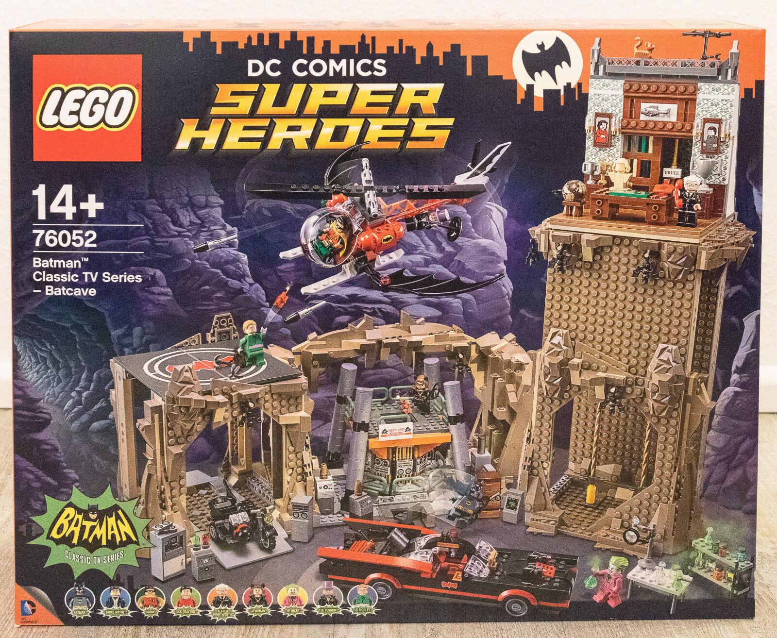 LEGO ® DC Comics ™ SUPER HEROES 76052 Batman ™ CLASSIC TV SERIES Batcave NUOVO MISB