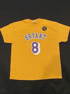 Kobe Bryant 8/24 Lakers Tribute Game Shirt 1/31/2020 memorial Blazers! Rare! | eBay