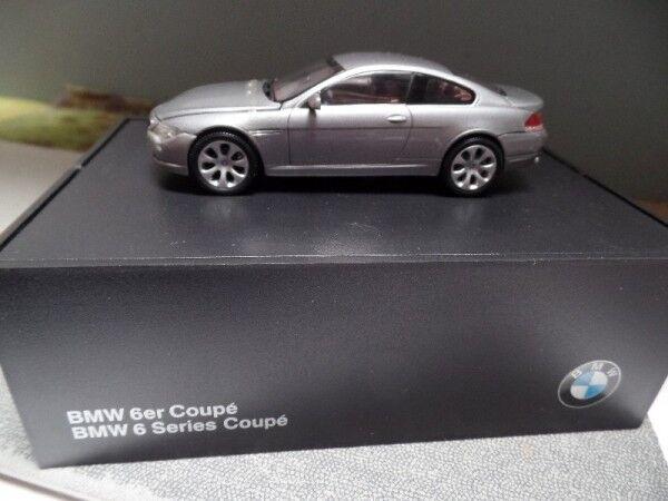 Minichamps BMW 6er COUPE plataO METALLIZZATO 80 42 0 153 281