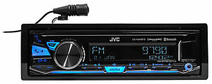 JVC KD X340BTS Single Din Car Digital Media Bluetooth Receiver USB AUX SiriusXM