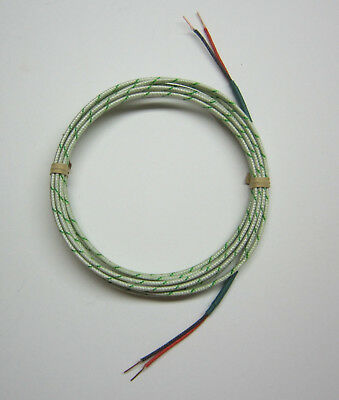 Hook Up Cable Extension Wire High Temperature S-type Thermocouple Sensor SW1-75f