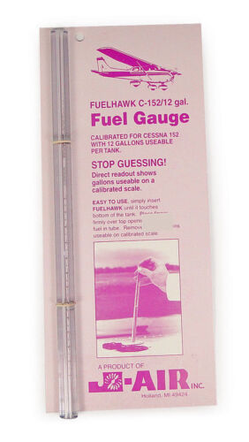 CESSNA J-Air FuelHawk Fuel Gauge Stick 152-12 Gallon
