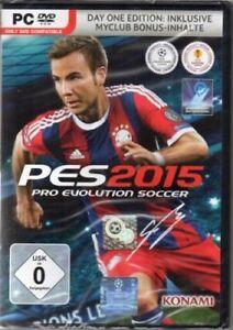 PES 2015 - Day 1 Edition - PC - deutsch - Neu / OVP