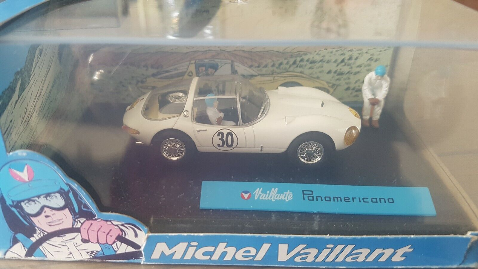 NEUF BOITE 1 43 COLLECTION BD VOITURE MICHEL VAILLANT PANAMERICANA