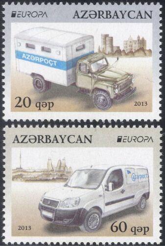 Azerbaijan 2013 Europa/Postal Transport/Car/Lorry/Van/Motors/Motoring 2v n44182