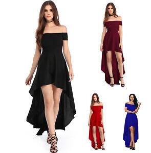 free shipping c110c 24e8e Dettagli su Vestito donna lungo abito vestitino damigella cerimonia party  ballo festa