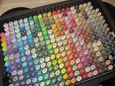 Copic Marker Storage Box Holds & Organizes 300 Sketch (NO Markers Included) case