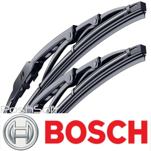 17 Front Left and Right- SET OF 2 BOSCH DIRECT CONNECT WIPER BLADES size 22
