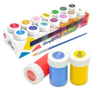 Tritart-Acryl-Farben-Set-fuer-Kinder-und-Erwachsene-14er-Acryl-Farbset