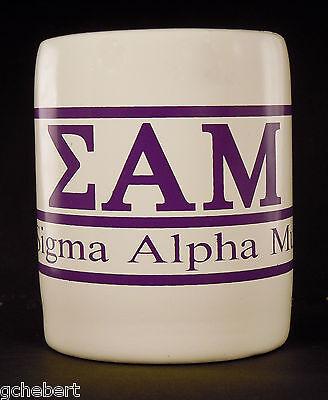 Sigma Alpha Mu, ΣΑΜ, Greek Letter/Name Kool Kan Koozie NEW