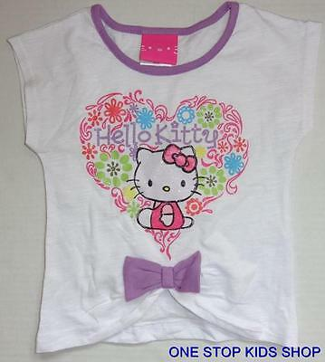 HELLO KITTY Girls 4 4T Short Sleeve SHIRT Top