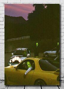 T212 Travis Scott Jackboys Pop Smoke Rapper Poster Cover 24x36 21
