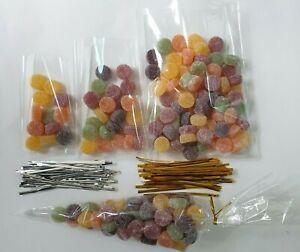 Transparent-Cellophane-Cone-Cello-Display-Bags-pour-sucettes-cake-pops-Bonbons-Fete