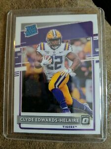 2020 Chronicles Donruss Optic Rated Rookies Clyde Edwards-Helaire RC Rookie