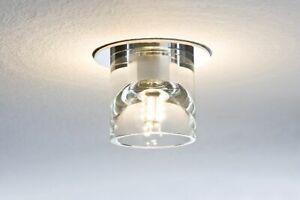 Paulmann-920-21-LED-Einbauleuchten-Set-Quality-Line-Glassy-3x1W-Tube-Klar-Rund