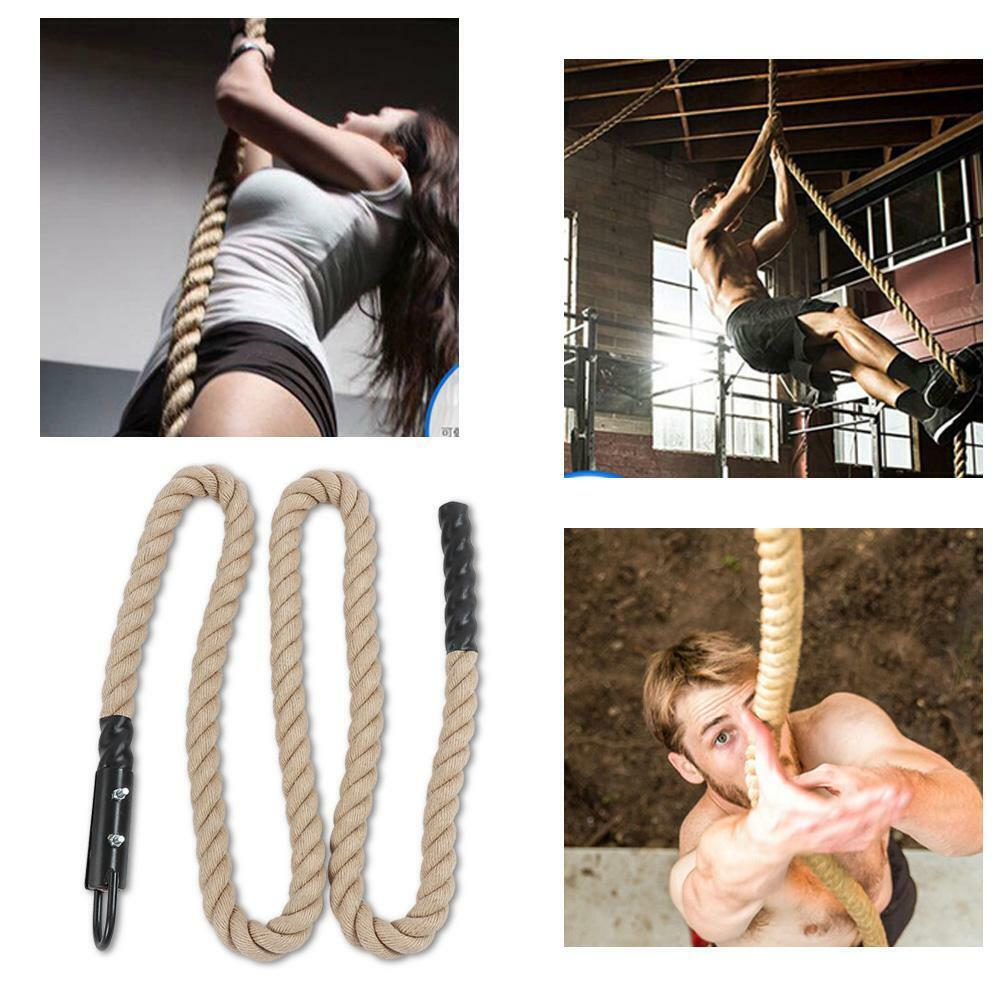 Battle Rope Undulation Rope Arm Strength Training Gym Climbing  Fitness Exercise  sale outlet