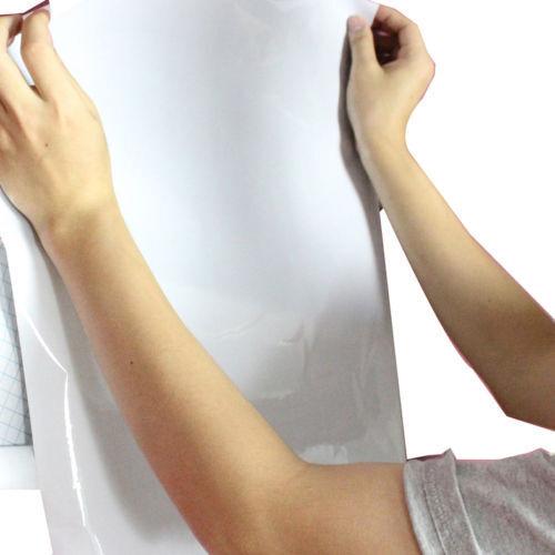Stick On Removable Whiteboard Sticker Wall Paper Art Vinyl Decor Decal 45x200cm