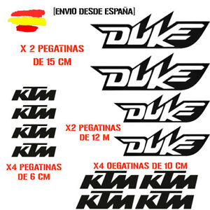 PEGATINA-VINILO-ADHESIVO-KTM-DUKE-MOTO-VINIL-STICKER-DECAL-KIT-DE-12-unds