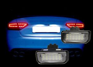 Kennzeichenbeleuchtung-LED-fuer-Mercedes-Benz-C-E-CLS-SLK-Klasse-W203-W219-W211