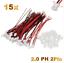 15-Set-30-Stueck-2Pin-2-0-PH-2-0mm-Mini-Micro-JST-Stecker-12cm-Kabel-Buchse Indexbild 1
