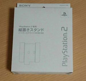 NEU-offizielle-Sony-Playstation-2-Weiss-Vertikal-Staender-SCPH-10220-ps2-Boxed